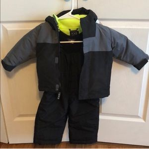 Child's snowsuit
